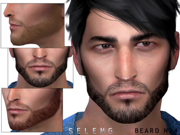 The Sims Resource: Beard N24 by Seleng