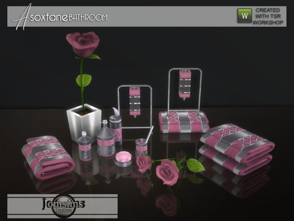The Sims Resource: Asoxtane bathroom Clutters by jomsims