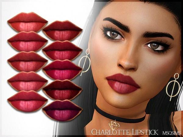 MSQ Sims: Charlortte Lipstick
