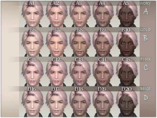 The Sims Resource: Ross facemask by BAkalia