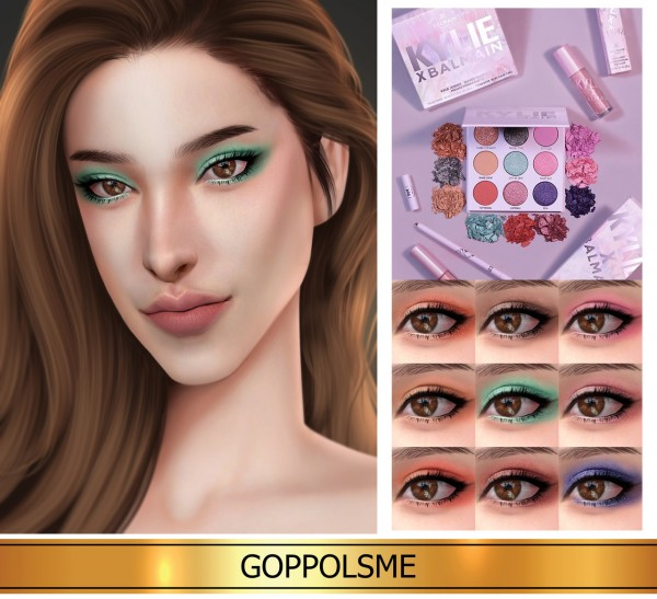 GOPPOLS Me: Palette Kyshadow