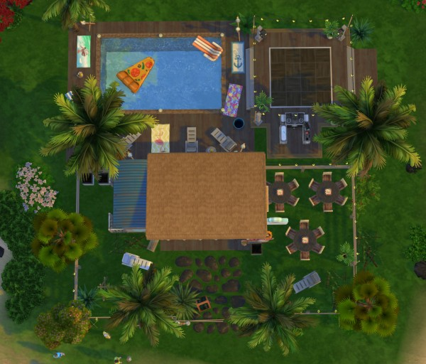 Fab Flubs: Tropical pool bar