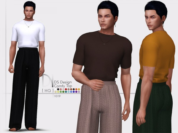 The Sims Resource: Design Comfy Top by DarkNighTt