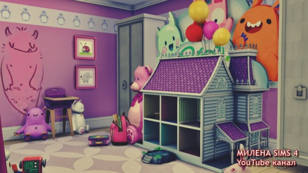 Sims 3 by Mulena: Childrens room
