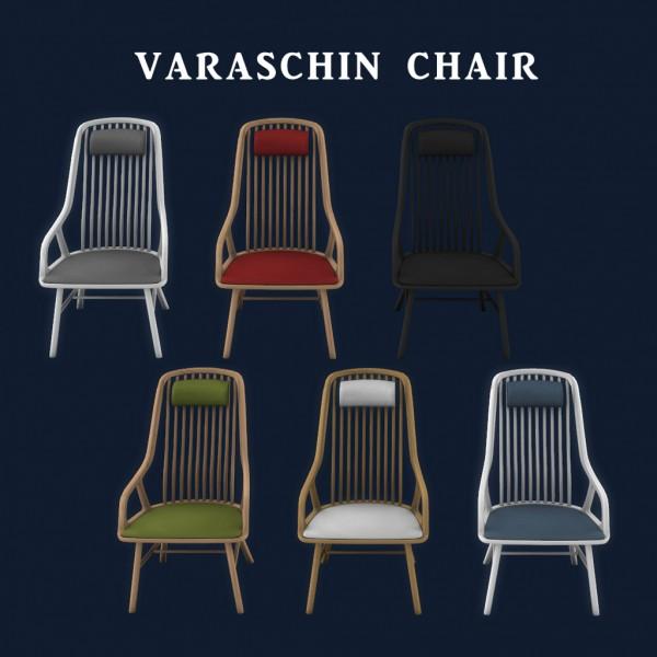 Leo 4 Sims: Varaschin Chair
