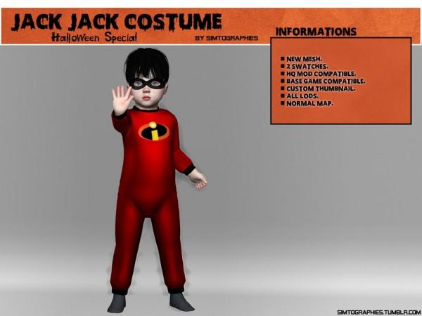 Simtographies: Jack Jack Costume