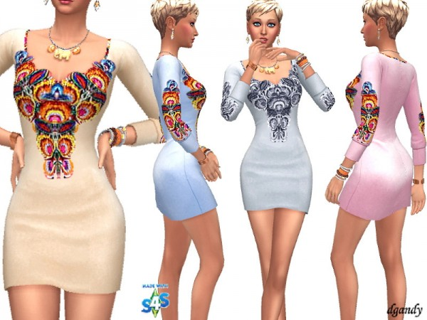 The Sims Resource: Dress 201910 01 by dgandy