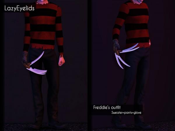 Lazyeyelids: Freddies outfit