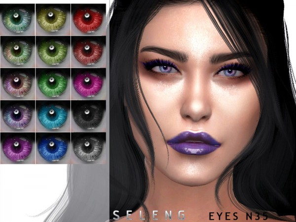 The Sims Resource: Eyes N35 by Seleng