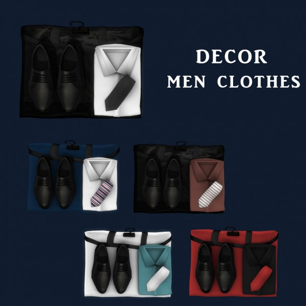 Leo 4 Sims: Men Clothes