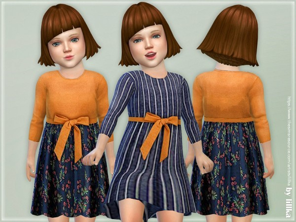 The Sims Resource: Toddler Dresses Collection P110 by lillka