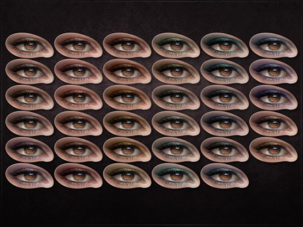 The Sims Resource: Sine Eyeshadow by RemusSirion