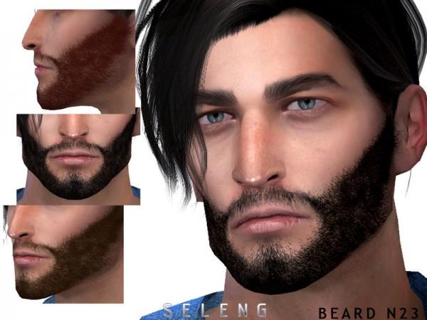 The Sims Resource: Beard N23 by Seleng