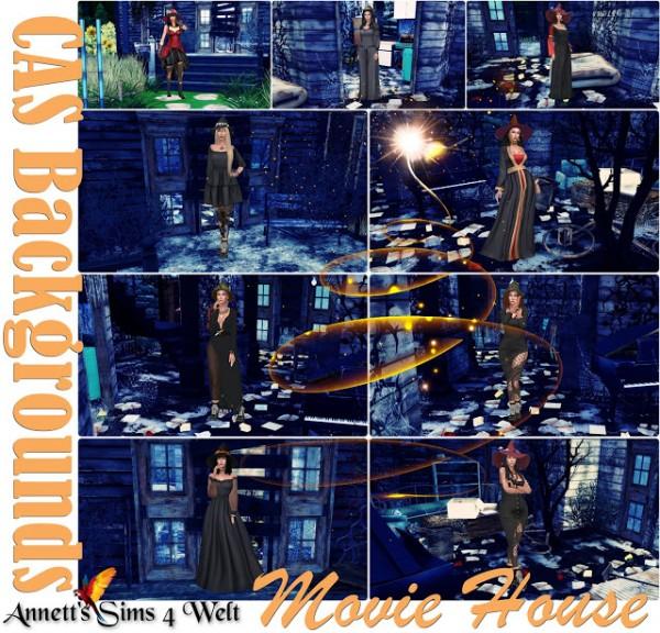 Annett`s Sims 4 Welt: CAS Backgrounds   Movie House