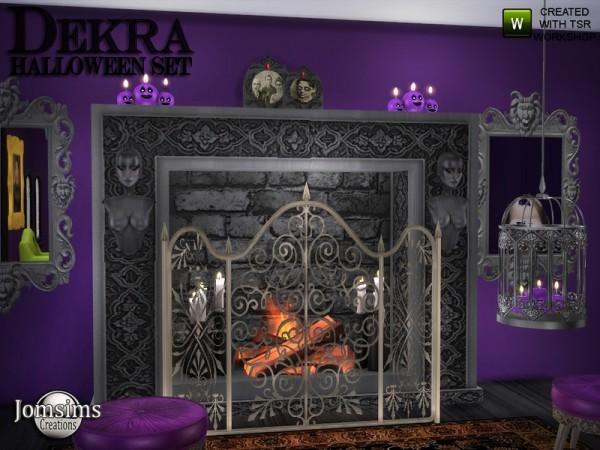 The Sims Resource: Dekra Halloween set by jomsims