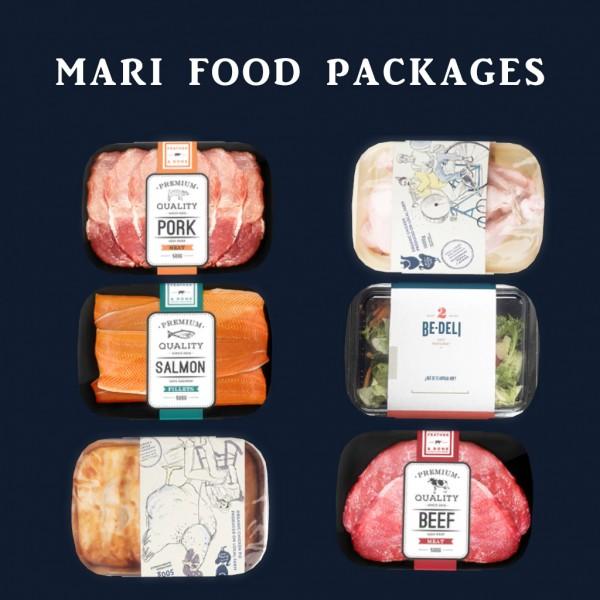 Leo 4 Sims: Mari Food Packages