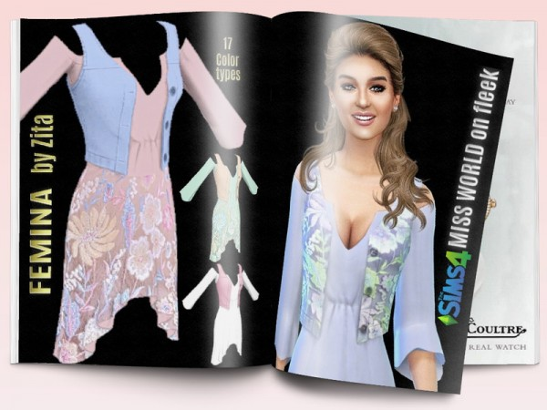 The Sims Resource: Femina outfit by ZitaRossouw