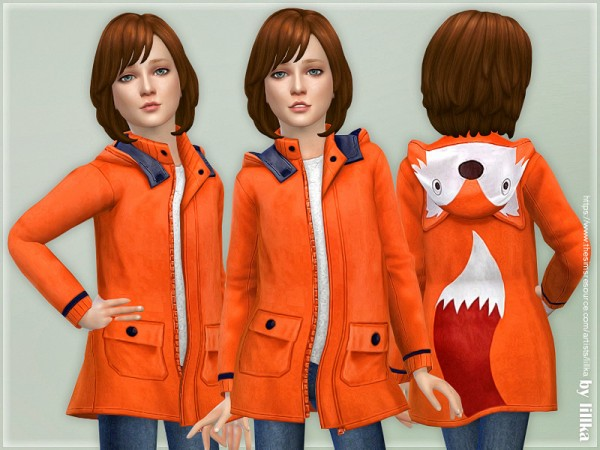 The Sims Resource: Fox Fishermans Jacket by lillka