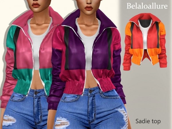 The Sims Resource: Sadie top by belal1997