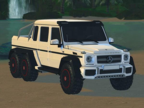 Tylerw Cars: Mercedes Benz G63 AMG 6x6