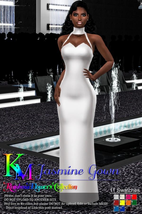 KM: Jasmine Gown
