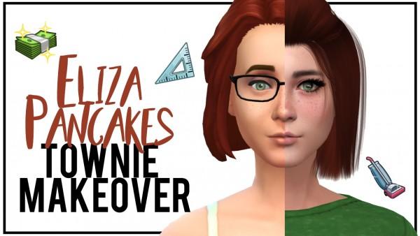 Models Sims 4: Eliza Pancakes
