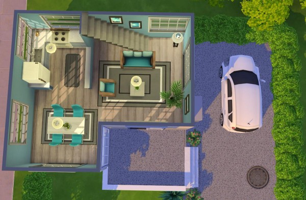 Fab Flubs: Modern Starter House