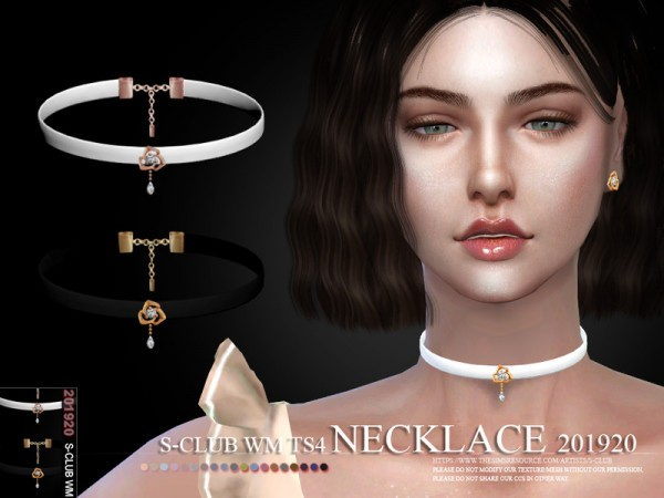 The Sims Resource: Necklace 201920 by S Club