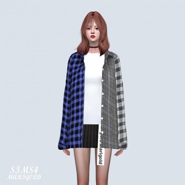 Sims 4 Sue: Stylish Open Shirts