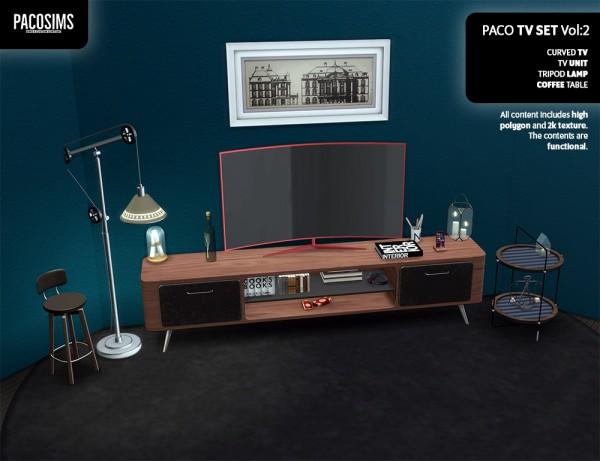 Paco Sims: TV set pt 2