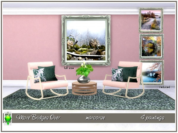 The Sims Resource: More Bridges OverPaints by marcorse