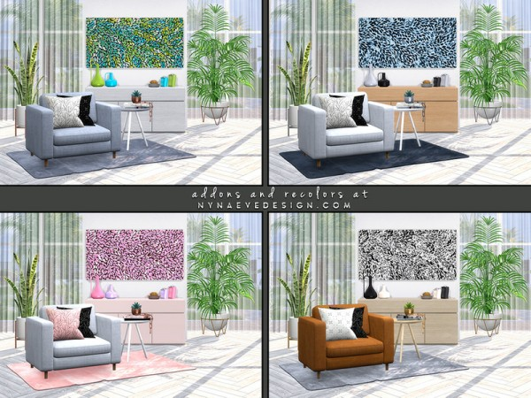 The Sims Resource: Lift Dining and Living Room Decor by NynaeveDesign