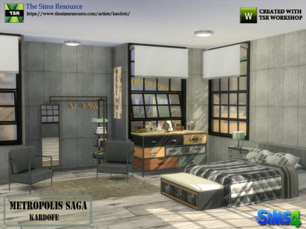 The Sims Resource: Metropolis Saga by kardofe