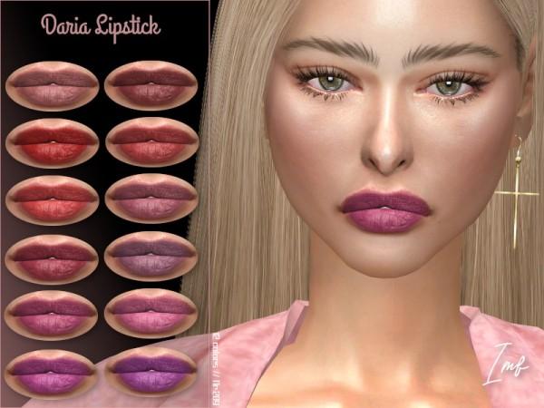 The Sims Resource: Daria Lipstick N.209 by IzzieMcFire