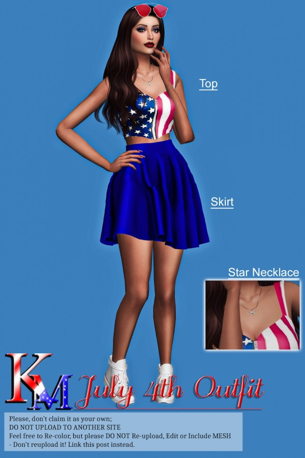 KM: July 4th Outfit