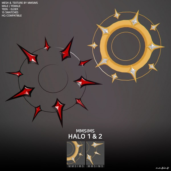 MMSIMS: Halo 1 and 2