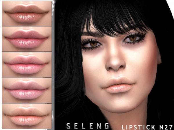 The Sims Resource: Lipstick N27 by Seleng