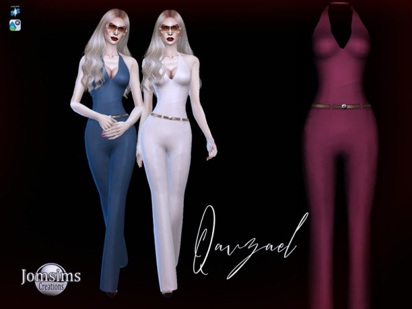 The Sims Resource: Qavzael jumpsuit by jomsims