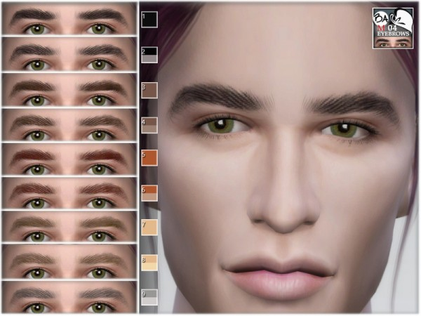 The Sims Resource: Eyebrows 04 by BAkalia