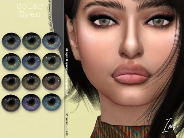 The Sims Resource: Solar Eyes N.112 by IzzieMcFire