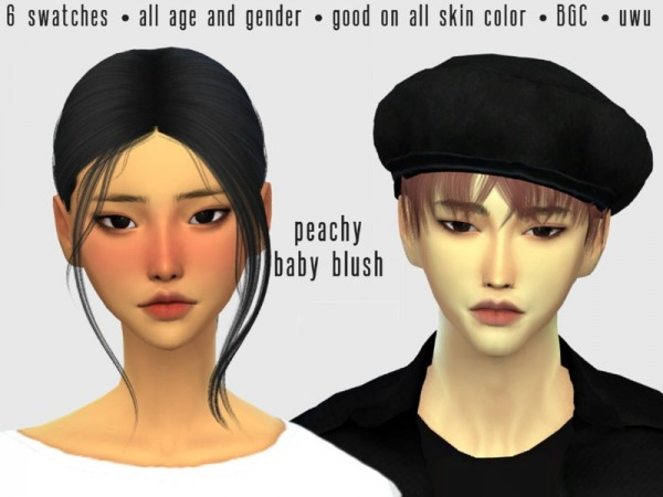 The Sims Resource: Peachy Baby Blush by xietresims