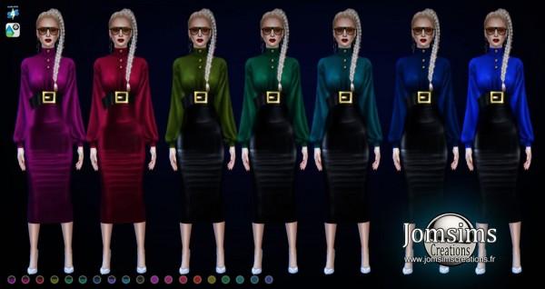 Jom Sims Creations: Miss satelle dress