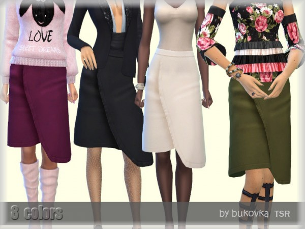 The Sims Resource: Skirt Female by bukovka