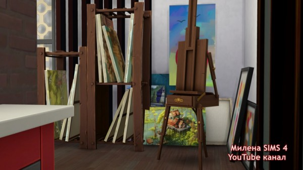 Sims 3 by Mulena: House of the Artist