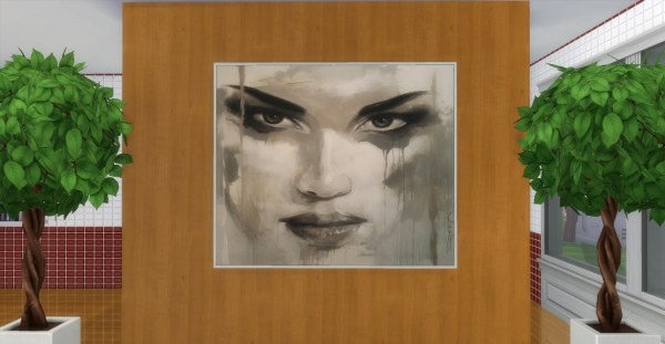 Mod The Sims: Alluring Modern Paintings by AdonisPluto