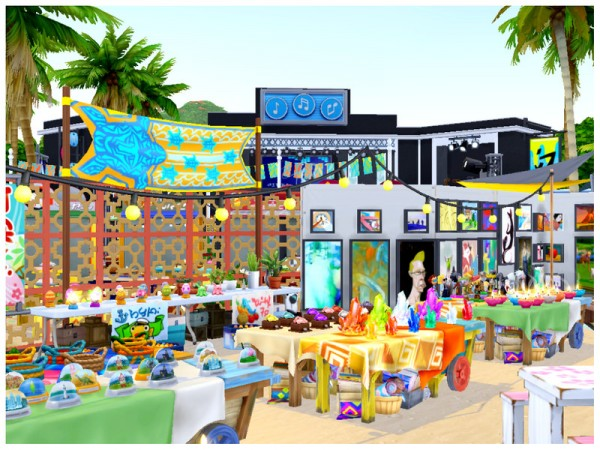 The Sims Resource: Summer Festival by Mini Simmer