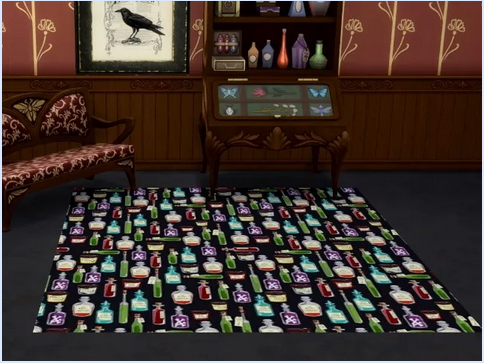 All4Sims: Halloween Rugs by Oldbox