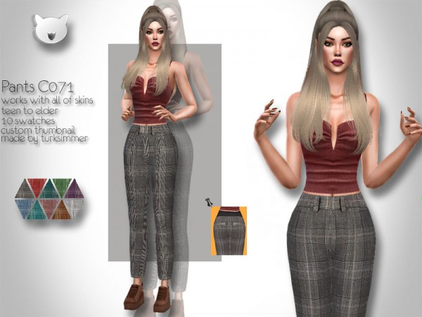 The Sims Resource: Pants C071 by turksimmer