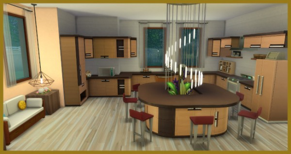 Blackys Sims 4 Zoo: Favorite house with a large garden by  Kosmopolit