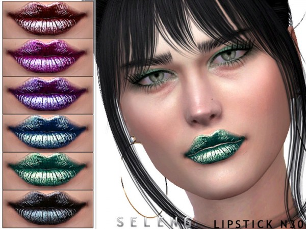 The Sims Resource: Lipstick N30 by Seleng